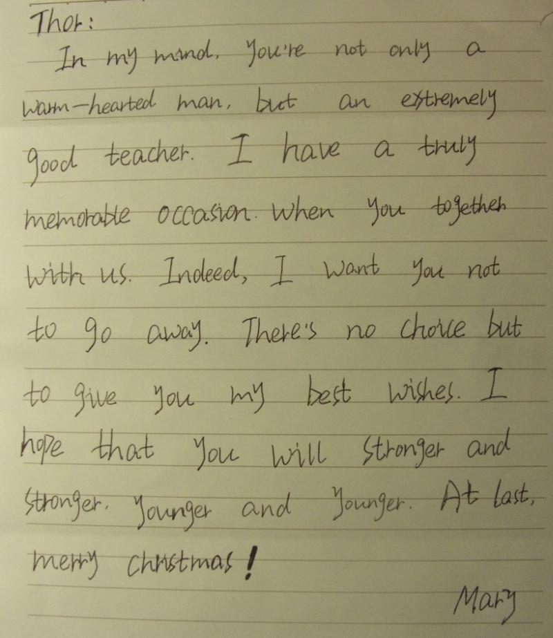 Funny Retirement Letter to Boss